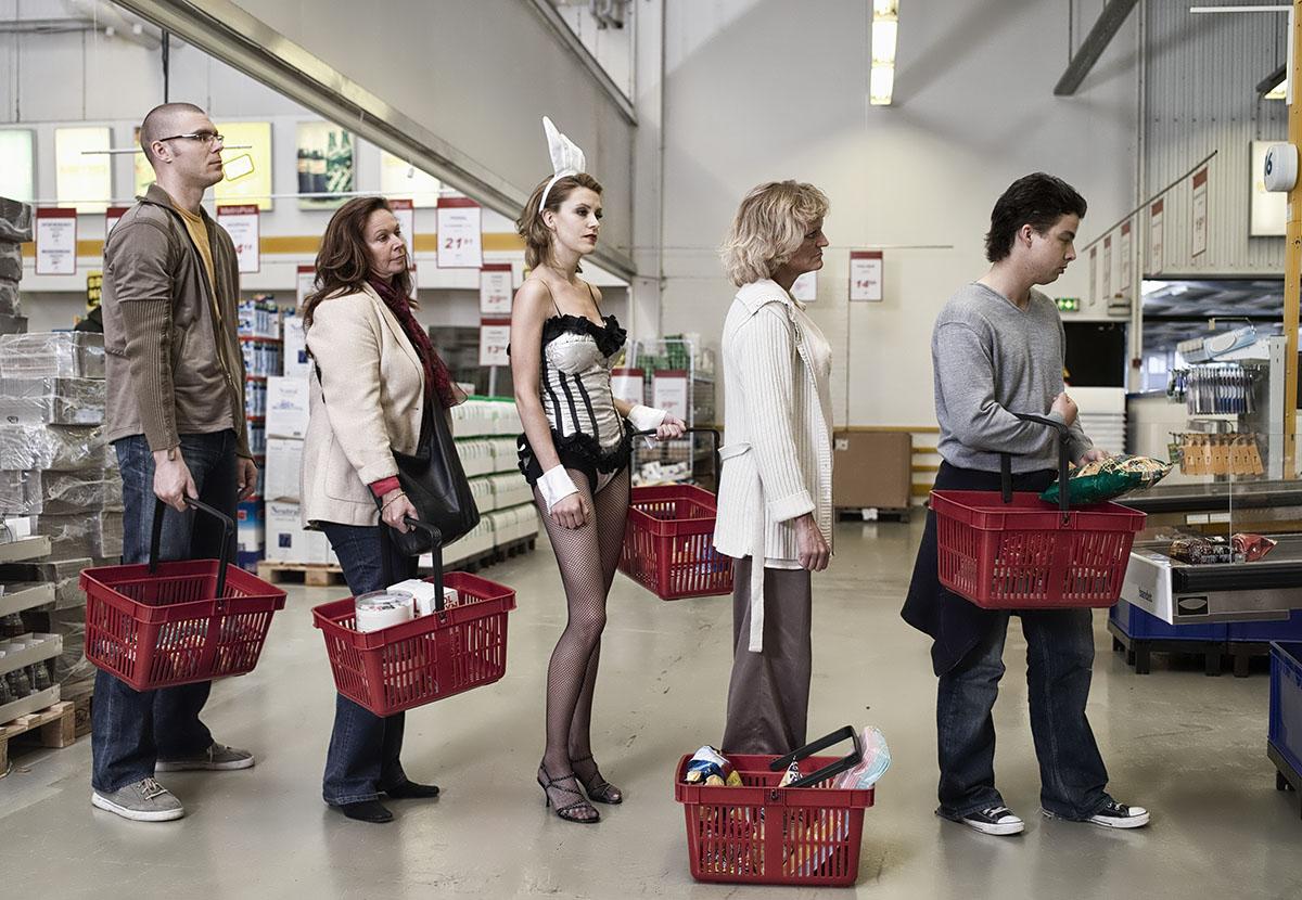 фото забывчивых людей в магазине всё