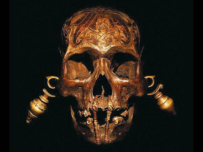 Фоторепортаж с Борнео — острова, где гостиные украшают черепами врагов