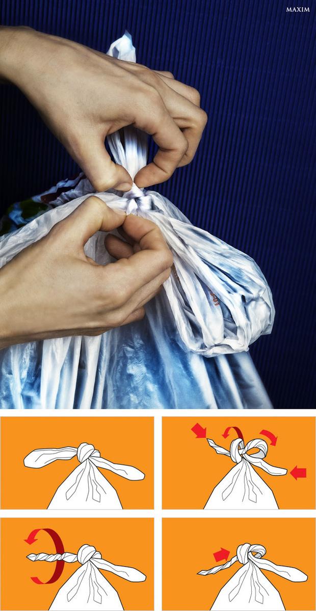 Развязать пакет