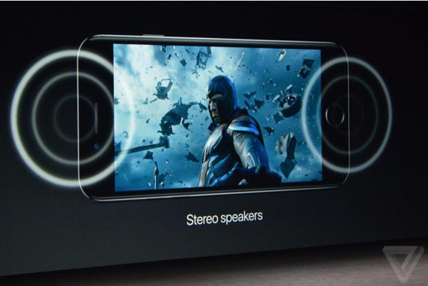 У айфона 7 будут стереодинамики
