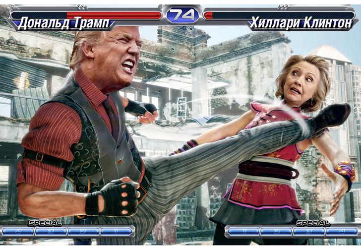 Фото №1 - «Мы могли и Хиллари президентшей сделать, но уж больно она на мою училку по биологии была похожа!»
