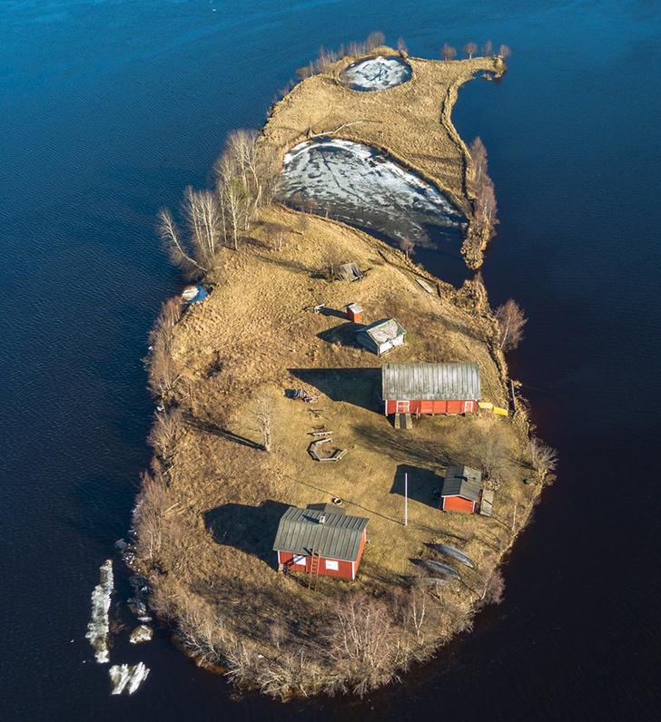 Фото №2 - Как выглядит остров Котисаари во все времена года