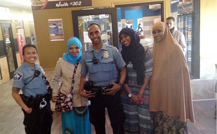 Полицейский  Мохаммед Нур