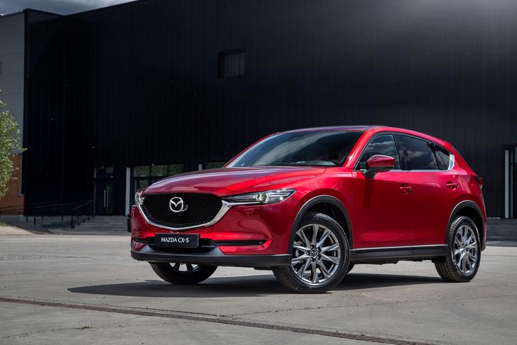 Фото №1 - Обновленная Mazda CX-5: четыре шажка к совершенству