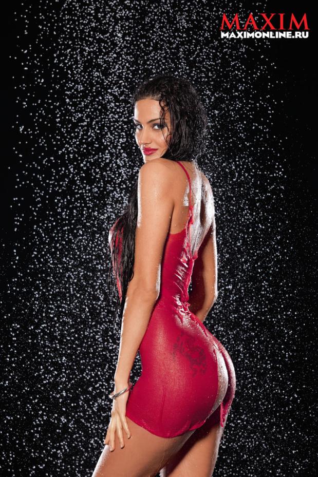 Ева Ривас фото для Maxim ню