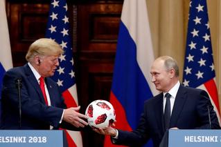 Путин подарил Трампу мячик с чипом