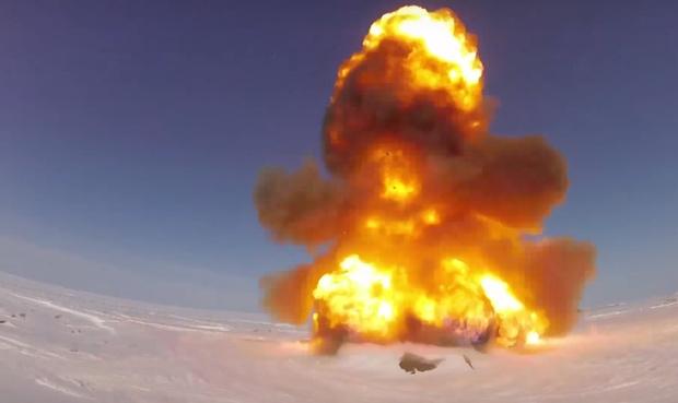 Фото №1 - Россия запустила новую модернизированную противоракету. И это выглядит совершенно убойно! (МЕГАВИДЕО)