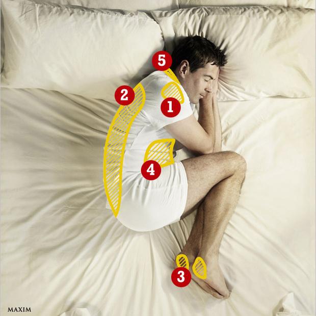 Как заснуть, если болит...