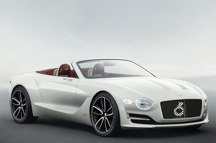 Фото №1 - Электрический Bentley и еще пять спорткаров, захвативших наше внимание этой весной