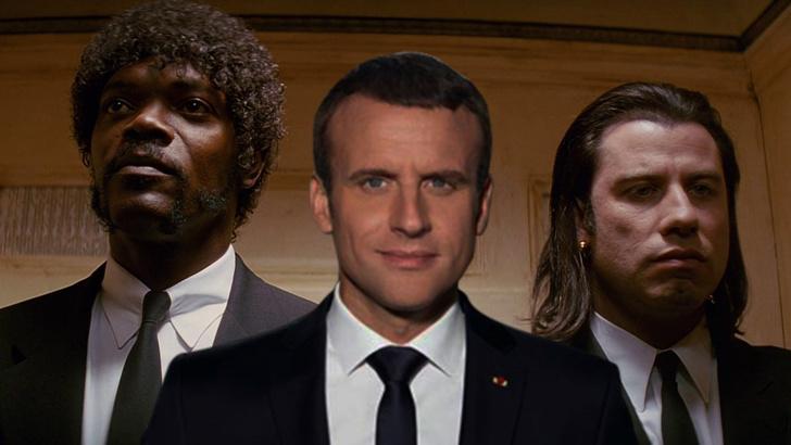 Фото №11 - Лучшие фотожабы на президента Франции Эммануэля Макрона!