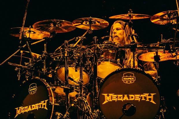 Фото №26 - Megadeth подняли температуру в Москве — посмотри и приобщись!