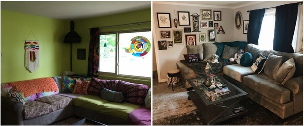 Фото №3 - Твит дня: девушка показала свой дом и дом своей сестры, и они максимально разные