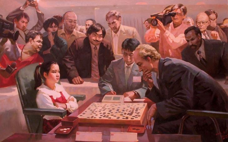 Фото №2 - Агитационные плакаты Северной Кореи, показывающие спортивные победы, которых не было