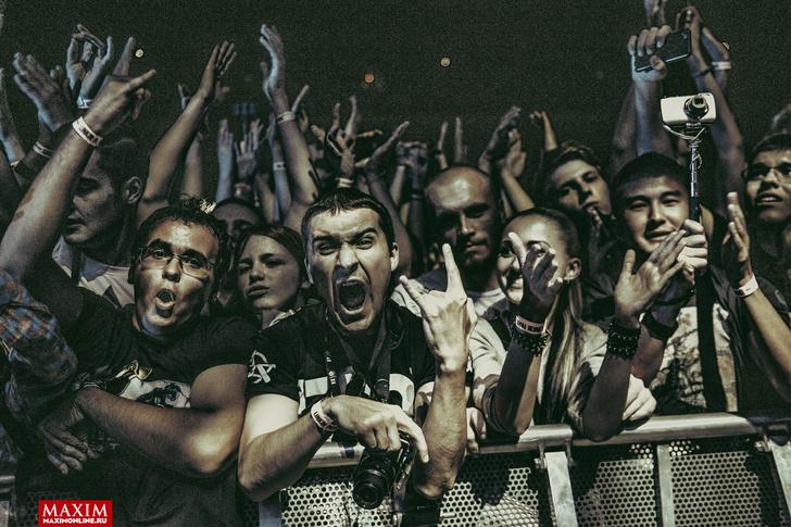 Фото №16 - Вопли рока. Что творилось на концерте Linkin Park