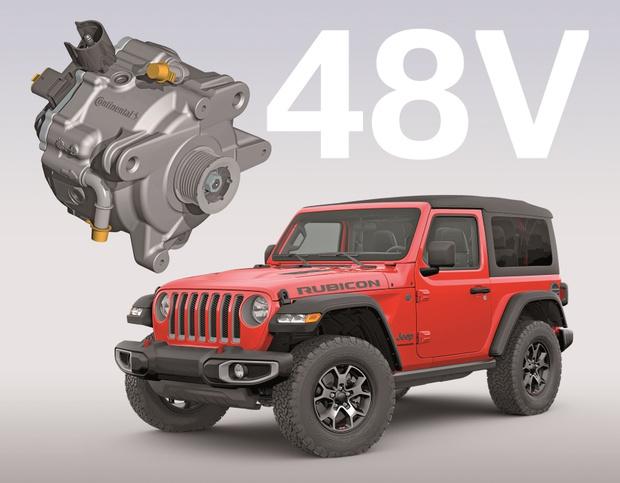 Фото №1 - Лучшие технологии Continental в автомобиле Jeep Wrangler