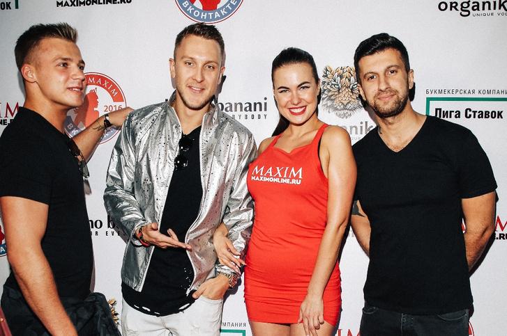 Олег Майами, Саша T-Killah, Амиран Сардаров на финале «Miss MAXIM ВКонтакте 2016»