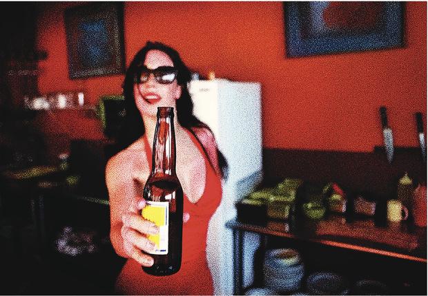 Мчалась за пивом