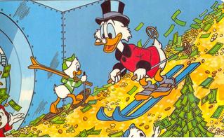 Учёные постановили: для богатства надо родиться везучим