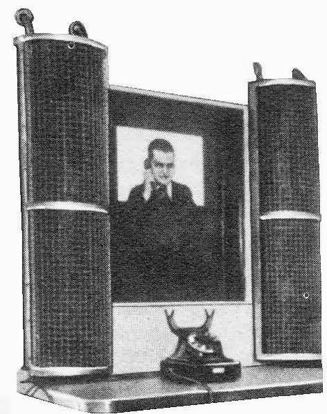 Германский видеофон 1939 года успешно запущен в работу, но с началом войны проект заморожен