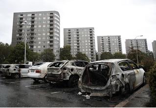 Молодежные банды за ночь сожгли более ста автомобилей в Швеции (видео)