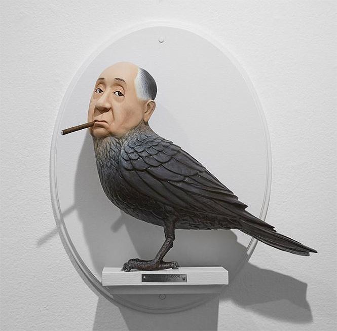 Фото №12 - Скульптор создает диковатые статуэтки знаменитых кинорежиссёров