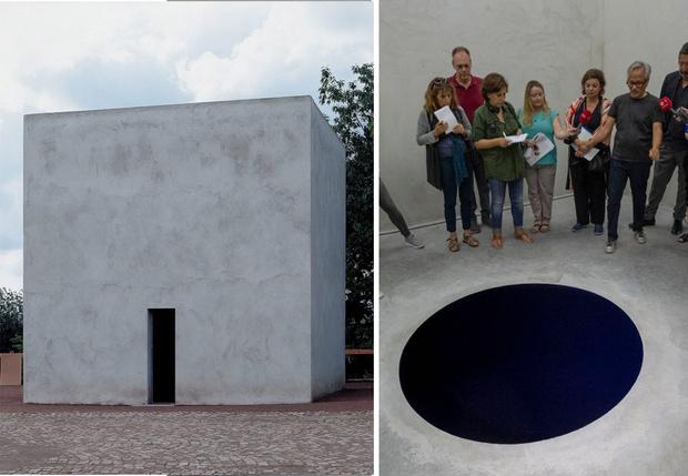 Фото №2 - Посетитель музея провалился в художественную инсталляцию