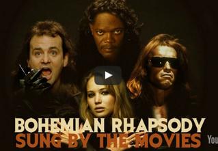 «Богемская рапсодия» в исполнении героев 260 фильмов! Такого ты точно не слышал!