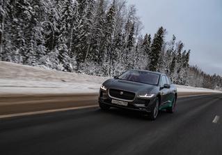 Электричкой из Москвы до Питера на чистой энергии Jaguar I-Pace