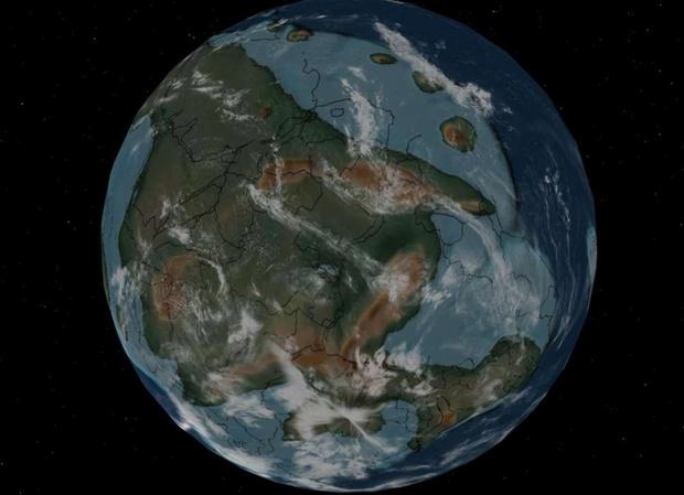 Фото №5 - Интерактивный глобус, который покажет, где находился бы твой город 750 миллионов лет назад