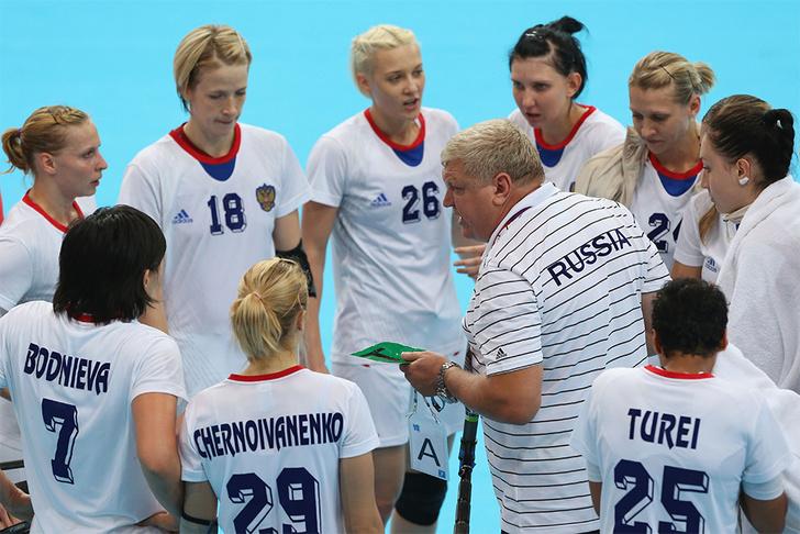Евгений Трефилов, тренер женской сборной России по гандболу