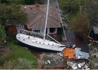 Последствия урагана «Флоренс» в США, снятые с дрона (галерея)