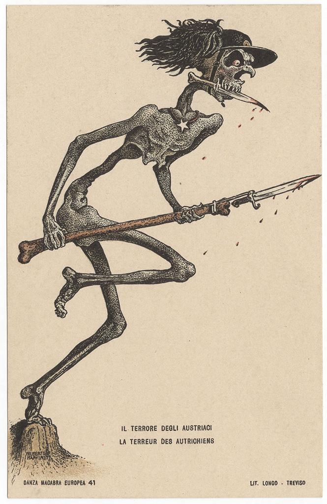 Фото №21 - Жутковатые карикатуры Первой мировой