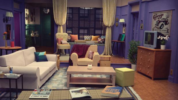 Фото №4 - IKEA детально воссоздала из своей мебели гостиные из культовых мультиков и сериалов (фото)