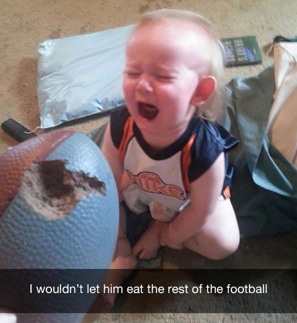 Фото №3 - 13 странных причин, по которым плачут дети