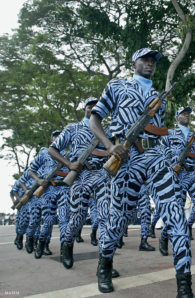 Фото №10 - Военные и смешные: самая чудная форма армий мира