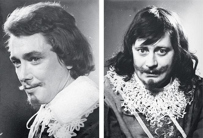 Игорь Старыгин (Аримис) и Валентин Смирнитский (Портос)