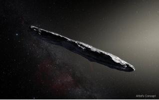 В нашу солнечную систему прилетел астероид из другой солнечной системы