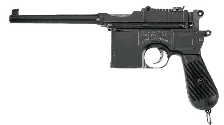 Появился автоматический пистолет «Маузер К-96». Тот самый знаменитый «Маузер» времен Гражданской войны.
