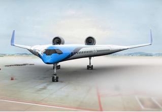 Авиакомпания KLM показала концепт самолета типа «летающее крыло» и даже грозится тестовыми полетами в этом году (видео)