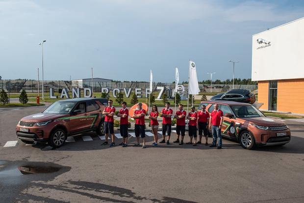 Фото №1 - Экспедиция «Вокруг света за 70 дней с Land Rover» финишировала в Москве
