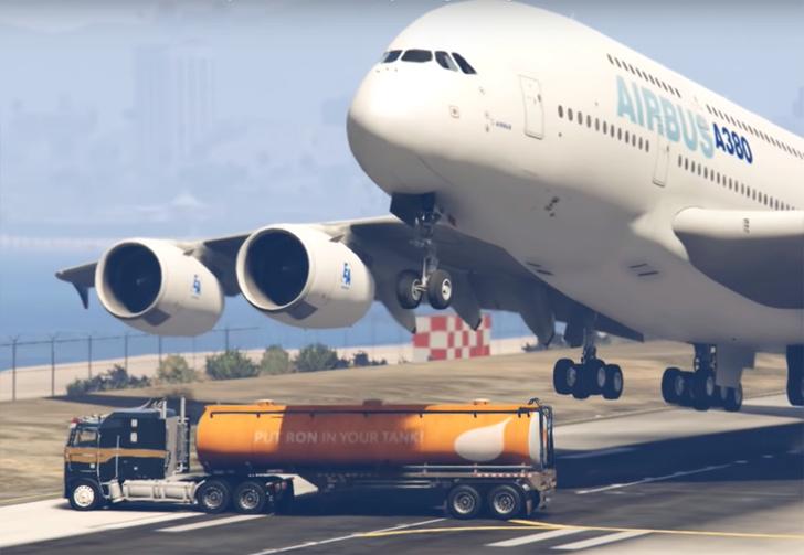 Фото №1 - Пакистанский политик похвалил пилота пассажирского лайнера за экстремальную посадку, но это оказались кадры из игры GTA