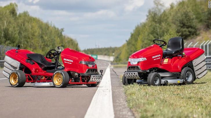 Фото №1 - Honda показала новое поколение «Злой газонокосилки» (видео)