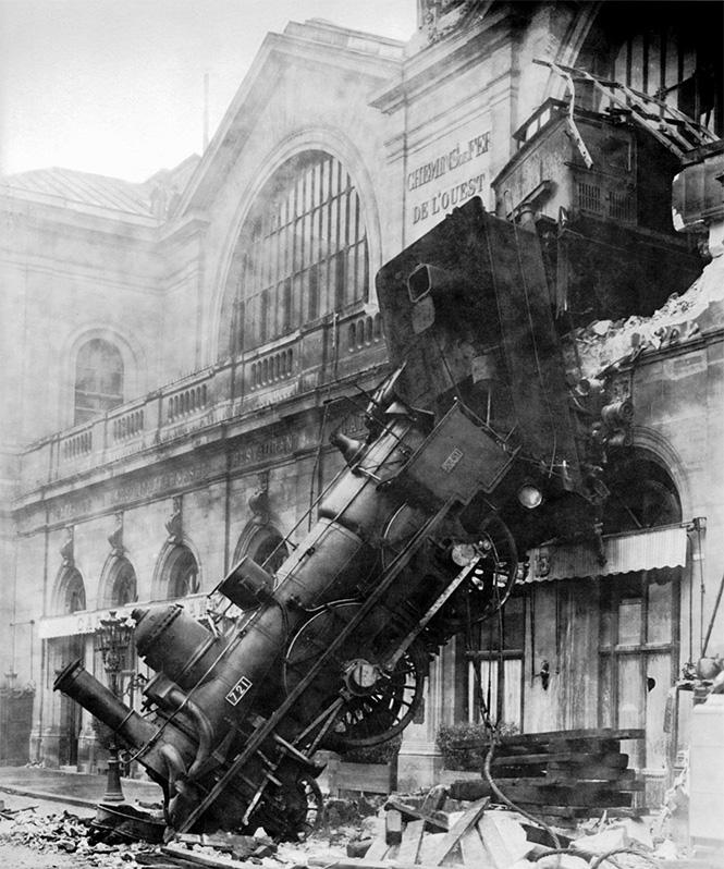Фото №2 - Самые впечатляющие фото железнодорожных катастроф