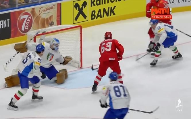Все 10 победных голов России в матче против Италии в одном видео