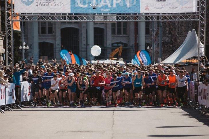 Фото №3 - Состоялся Первый забег Московского Марафона 2015!