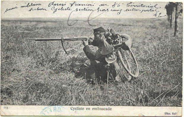 Фото №14 - Непридуманная история велосипедных войск