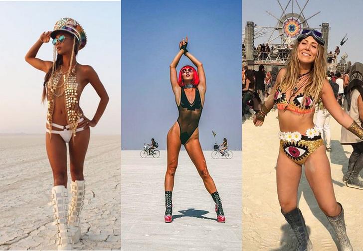 Фото №1 - Самые красивые участницы фестиваля Burning Man 2018