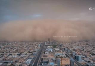 А-а-а! Адская песчаная буря мглою кроет целый город! (эпичное ВИДЕО)