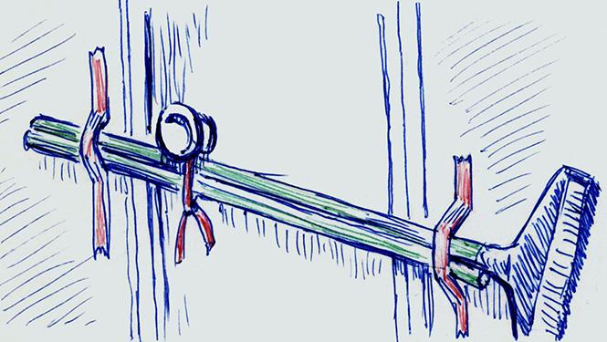 Фото №3 - 3 способа забаррикадировать дверь