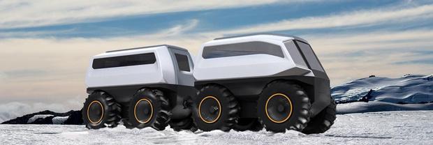 Фото №2 - Российский автобусный завод создал вездеход-беспилотник для Арктики